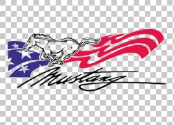 福特野马SVT眼镜蛇谢尔比野马福特GT汽车,野马标志的PNG剪贴画文