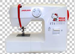 缝纫机缝纫机针美洲虎汽车Hello Kitty,美洲虎PNG剪贴画动物,缝纫