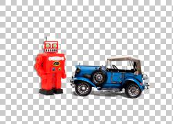 老式汽车模型汽车汽车,汽车和机器人PNG剪贴画蓝色,汽车事故,电子