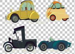 老式汽车欧几里德轮古董车,复古经典车PNG剪贴画紧凑型轿车,汽车