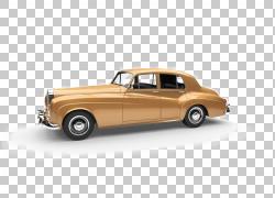 老爷车劳斯莱斯银云经典车,经典车设计PNG剪贴画紧凑型汽车,汽车