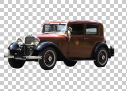 老爷车古董车登记经典车,复古经典车PNG剪贴画紧凑型汽车,彩绘,复