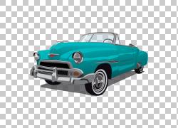 老爷车大众甲壳虫,蓝色和绿色复古经典车PNG剪贴画紧凑型汽车,蓝