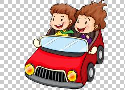 卡通女孩,儿童车PNG剪贴画汽车事故,儿童,摄影,人,汽车,男孩,女人