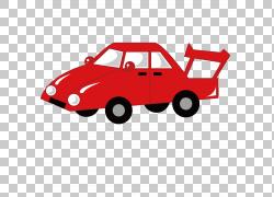 卡通摄影插图,精致的跑车PNG剪贴画紧凑型汽车,汽车事故,运动,摄