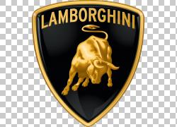 兰博基尼跑车奥迪标志,兰博基尼PNG剪贴画会徽,汽车,黄金,顶级齿