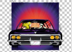 加州Blink-182流行朋克专辑,海报灯PNG剪贴画杂项,紧凑型汽车,老