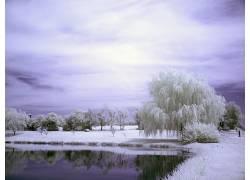 100374,地球,冬天的,壁纸图片