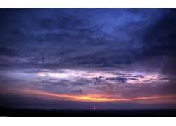 10875,地球,天空,云,日落,壁纸