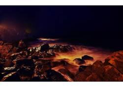 101502,地球,岩石,海滩,海岸,岛,西班牙,壁纸图片