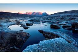 103179,地球,溪流,水,岩石,风景,壁纸图片