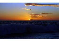 109769,地球,日落,壁纸图片