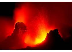 106483,地球,火山,火山,壁纸图片