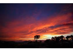 109785,地球,日落,壁纸图片