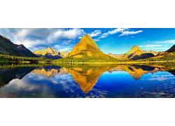 107384,地球,冰川,国家的,公园,国家的,公园,山,壁纸图片