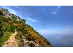 102169,地球,悬崖,壁纸图片