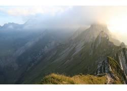 109952,地球,山,山脉,壁纸图片