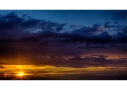 102037,地球,日落,壁纸图片