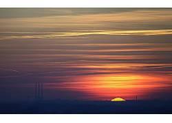 109977,地球,日落,壁纸图片