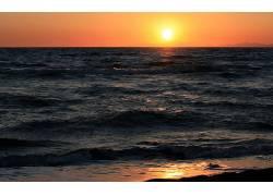109999,地球,日落,壁纸图片