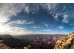 107375,地球,风景,岩石,山,云,峡谷,风景优美的,壁纸图片
