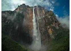 102204,地球,天使,瀑布,瀑布,瀑布,壁纸图片
