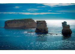104396,地球,岛,海洋,岩石,澳大利亚,壁纸图片