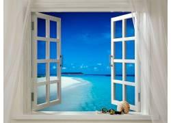 104648,地球,海洋,海滩,窗户,壳,谷歌,壁纸图片