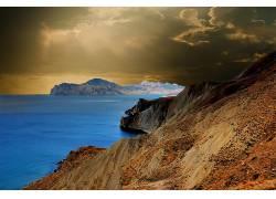 102537,地球,悬崖,壁纸图片