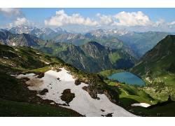 110506,地球,山,山脉,壁纸图片