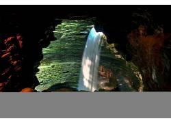 102668,地球,Watkin,格伦,州,公园,瀑布,壁纸图片
