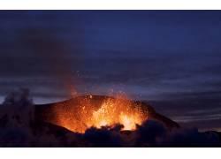 105660,地球,火山,火山,壁纸图片
