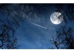 105725,地球,月球,壁纸图片