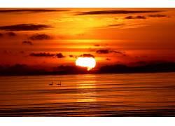 105800,地球,日落,壁纸图片