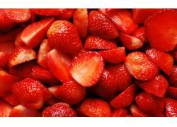 716030,食物,草莓,水果,浆果,水果,壁纸