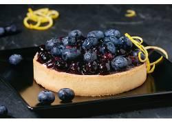 913324,食物,馅饼,面粉糕饼,沙漠,蓝莓,水果,浆果,壁纸