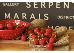 717052,食物,草莓,水果,浆果,水果,壁纸