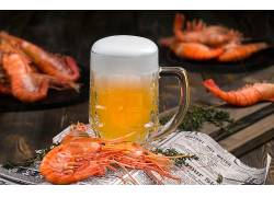 913345,食物,啤酒,玻璃,喝酒,虾,海鲜,酒精,壁纸