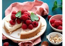 1033474,食物,蛋糕,覆盆子,浆果,水果,仍然,生活,甜点,壁纸