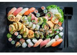 904324,食物,寿司,仍然,生活,鱼,海鲜,米饭,壁纸