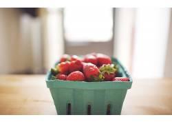 741109,食物,草莓,水果,浆果,水果,壁纸