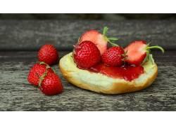 772283,食物,草莓,水果,浆果,水果,壁纸