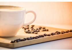 754627,食物,咖啡,杯子,咖啡,豆子,壁纸