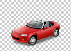 跑车马自达车,汽车PNG剪贴画紧凑型汽车,敞篷车,前照灯,汽车,运输