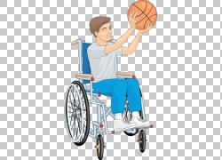 轮椅残疾人坐,轮椅男孩射击PNG剪贴画男孩,卡通,运输,汽车,产品设