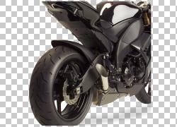 轮胎排气系统汽车摩托车川崎忍者ZX-10R,汽车PNG剪贴画排气系统,