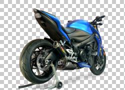 轮胎排气系统汽车铃木GSR750,gsxr 1000 PNG剪贴画排气系统,汽车,