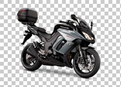 轮胎汽车摩托车轮川崎忍者1000,汽车PNG剪贴画排气系统,汽车,摩托