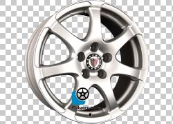 铝合金轮毂Silver Autofelge白金螺栓圈,银色PNG剪贴画铂金,汽车