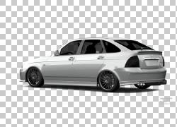 铝合金轮毂中型车轮胎全尺寸车,车载PNG剪贴画紧凑型轿车,轿车,汽